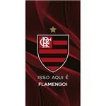 Toalha de Banho Aveludada Dohler Flamengo