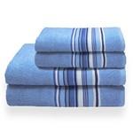 Toalha de Banho Banhão Vegas Azul