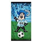Toalha de Banho Bouton Grêmio Veludo Mascote