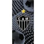 Toalha de Banho - Clubes de Futebol - Atlético Mineiro - Mod 06 - Aveludada - Dohler