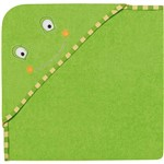 Toalha de Banho com Capuz Bath Friends Sapo Verde - Multikids