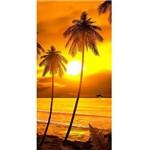 Toalha de Banho e Praia Pôr do Sol Aveludada 0,76x1,52m Buettner