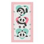 Toalha de Banho Felpuda Panda Lepper