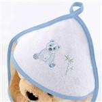 Toalha de Banho Felpuda Pandas Azul - Bouton