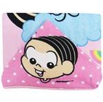 Toalha de Banho Feminina com Capuz Estampada Mônica e Magalí Baby