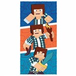 Toalha de Banho Infantil Authentic Games Triple Felpuda