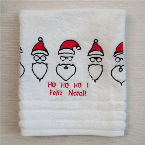 Toalha de Lavabo Papai Noel Natal 30x50