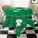 Toalha de Mesa Aveludada Jogos Baralho Poker Truco Buettner