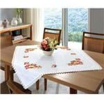 Toalha de Mesa Jacquard Creative Tj-5064 90x90 - Branco