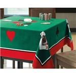 Toalha de Mesa P/ Jogos Baralho Poker Truco 1,54x1,54m Dohler