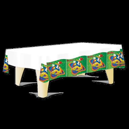 Toalha de Mesa Plástica Pica Pau