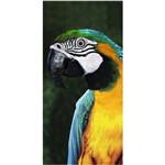 Toalha de Praia Aveludada 100% Algodão Beach Collection Big Macaw Buettner. BANHO - ESTAMPADO