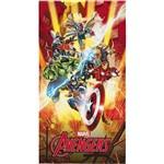Toalha de Praia Aveludada Transfer Avengers - Lepper