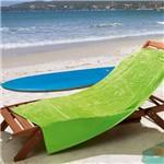 Toalha de Praia Lufamar Linha New Summer Aloha Verde