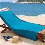 Toalha de Praia Lufamar Linha New Summer Sunny Day Azul