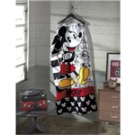 Toalha de Praia Velour Estampada Mickey
