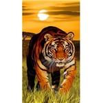 Toalha de Praia Veludo Buettner Tigre Tiger