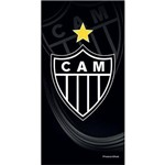 Toalha de Time Buettner Veludo Estampado Atlético Mineiro