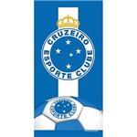 Toalha de Time Buettner Veludo Estampado Cruzeiro