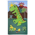 Toalha Infantil Masculina Dinossauro