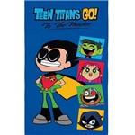 Toalha Infantil Menino Lepper Aveludada Teen Titans Go