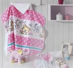 Toalha para Bebê com Capuz e Forro para Fralda - Dohler Baby | Casa Sofia