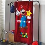 Toalha Praia Aveludada Infantil Menino Döhler Baby Estampado Super Mario 03