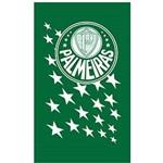 Toalha Social Buettner Veludo Estampado Palmeiras