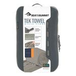 Toalha Tek Towel Sea To Summit M (M) 50x100cm 200g - Cinza