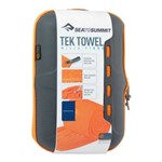 Toalha Tek Towel Sea To Summit S (P) 40x80cm 140g - Laranja