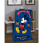 Toalha Velour Mickey Mouse Disney The One And Only 76cm X 152cm