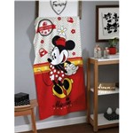 Toalha Velour Minnie Mouse Disney Too Cute 76cm X 152cm