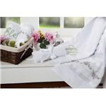 Toalhas de Banho Bouquet 5 Peças Branco