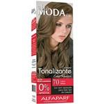 Tonalizante Altamoda Kit Ton Sobre Ton 7.0 Louro Médio 120g