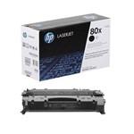 Toner HP CF280X HP 80X Preto LaserJet M401N M401DN M401DW