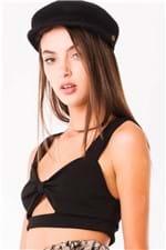 Top Cropped com Amarração no Peito TP0131 - Kam Bess