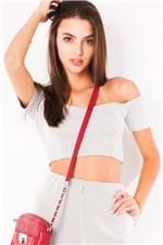 Top Cropped Ombro a Ombro TP0154 - P