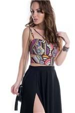 Top Cropped Strappy TP0094 - M