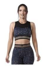 Top Fitness Onça com Transparência-262498 P