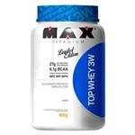 Top Whey 3w 900g - Max Titanium + Coqueteleira
