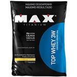 Top Whey 3W Refil Baunilha 1,8 Kg - Max Titanium