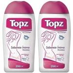 Topz Original Sabonete Íntimo 2x200ml