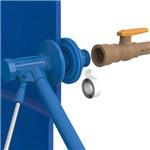 Torneira de Boia com Flange 3/4 e 1/2 Blukit Azul