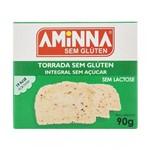 Torrada Integral Sem Açúcar 90g - Aminna