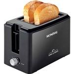 Torradeira Toast Due Black Mondial