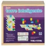 Torre Inteligente Jogo 63 Pçs Multicor