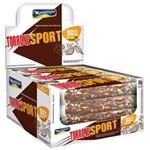 Torrone Sport Amendoim e Nibs de Cacau 30g C/12 - Montevérgine