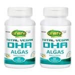Total Vegan DHA de Algas - 2 Un de 60 Cápsulas - Unilife
