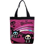 Totebag Skelanimals Color And Love - Pacific