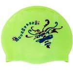 Touca Silicone Kids Verde Aqua Sphere
